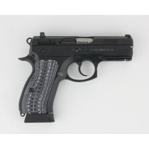Pachmayr G10 Tactical Grips CZ75 Compact Grey/Black Grappler