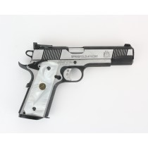 Pachmayr G10 Tactical Grips 1911 White Pearl Smooth