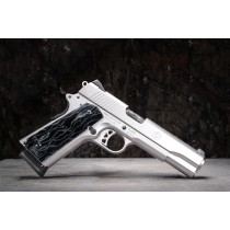 Pachmayr Alume 1911 Grips by Raffir Dark Night