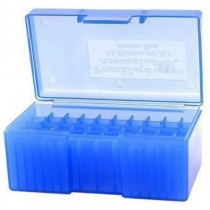 Frankford Arsenal Flip-Top Ammo Box #504 22 Hornet, 221 Remington Fireball, 30M1 50-Round Plastic