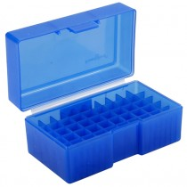 Frankford Arsenal Flip-Top Ammo Box #512 22 PPC, 6mm BR, 7mm BR, 7.62x39 R 50-Round Plastic