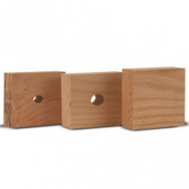 Wheeler Engineering Set Of 3 Replacement Oak Bushings
