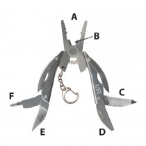 UST Add-On Folding Plier Multi-Tool