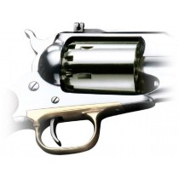 Pietta Remington Nickel Spare Cylinder Cal.44