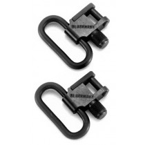 "BlackHawk Lock-Down Sling Swivels Steel Blue 1"" - 2 Pack"