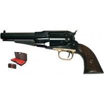 Pietta Black Powder Revolver 1858 Remington Sheriff Steel Cal.44