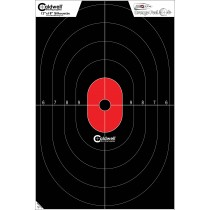 Caldwell Flake Off Silhouette Center Mass Target 30 X 45cm x25