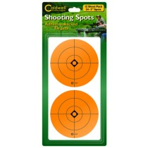 "Caldwell 3"" Orange Shooting Spots, 12 Sheets"