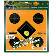 Caldwell Orange Peel Target 20cm Self-Adhesive Sight-In x5