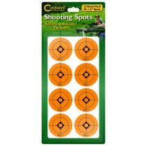 "Caldwell 1.5"" Orange Shooting Spots, 12 Sheets"
