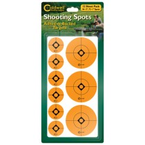 "Caldwell 1"" & 2""Orange Shooting Spots, 12 Sheets"