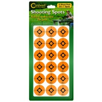 "Caldwell 1"" Orange Shooting Spots, 12 Sheets"