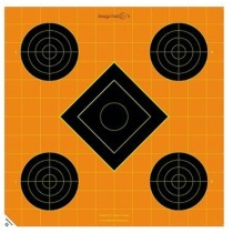 Caldwell Orange Peel Target 30cm Self-Adhesive Sight-In x5