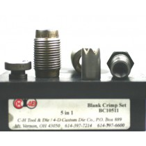 CH4D 5 In 1 Blank Crimp Set