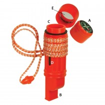 UST 5-in-1 Survival Tool Orange