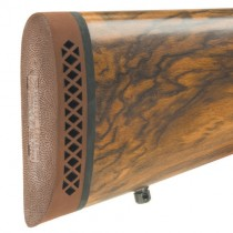 """Pachmayr F325 Deluxe Shotgun & Rifle Recoil Pad Small 1.00"""" Brown / White Line"""