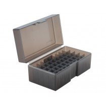 Frankford Arsenal Flip-Top Ammo Box #514 460 S&W Mag, 500 S&W Mag, 45-70 Gov 50-Round Plastic Gray