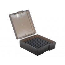 Frankford Arsenal Flip-Top Ammo Box #1003 38 Special, 357 Magnum 100-Round Plastic Gray