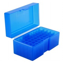 Frankford Arsenal Flip-Top Ammo Box #515 223 WSSM, 7mm RSAUM, 300 WSM 50-Round Blue