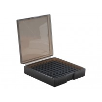 Frankford Arsenal Flip-Top Ammo Box #1008 40S&W, 10mm Auto, 45ACP 100-Round Plastic Gray