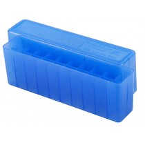Frankford Arsenal Flip-Top Ammo Box #209 22-250, 243, 308 20-Round Blue