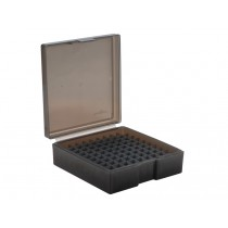 Frankford Arsenal Flip-Top Ammo Box #1007 41 Remington Magnum, 44 Remington Magnum 100-Round Plastic Gray