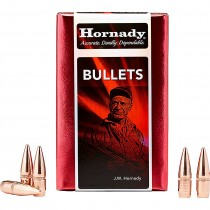 Hornady 22671 22-224 55g FMJ With Cannelure x500
