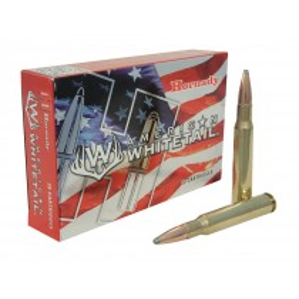Hornady American Whitetail Ammunition 30-30 Winchester 150gr RN x20