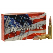 Hornady American Whitetail Ammunition 6.5 Creedmoor 129 gr InterLock x20