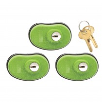 Lockdown Keyed Trigger Lock 3 Pack