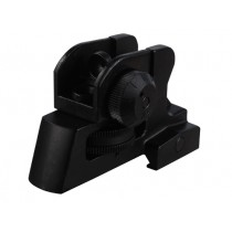 Leapers UTG Model 4/15 Match Grade Detachable Rear Sight Assembly with Integral Picatinny-Style Mount AR-15 Matte