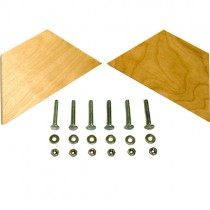 Lee Hardwood Blank Bases with Fasteners