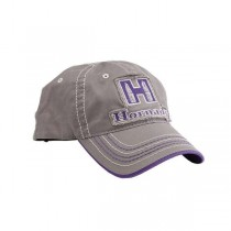 Hornady 99304 Ladies Gray & Purple Cap