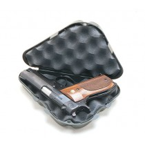 "MTM Pistol Handgun Case Single Up To 2"" Revolver Black"
