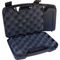 "MTM Single Pistol Handgun Case Single Up To 4"" Revolver Black"