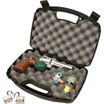 "MTM Single Pistol Handgun Case Single Up To 6"" Revolver Black"
