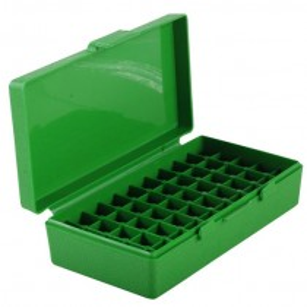 MTM P50-45 Ammo Box 10mm, 40S&W, 45ACP Green
