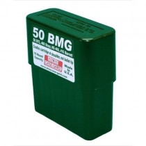 MTM BMG10 Rifle Ammo Box 10 Round 50 Cal Green