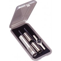 MTM Tube Case Holds 9 Regular Chokes Clear Smoke