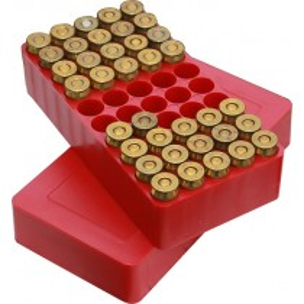 MTM J-50-45-30 Handgun Ammo Boxes Red