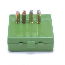 MTM Ammo Box 64 Round Flip-Top 50 Ae 480 Ruger Green