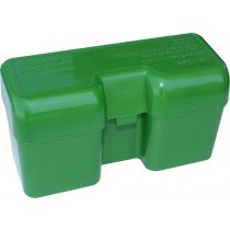 MTM Ammo Box 22 Round Flip-Top 338 Wsm 45-70 450 Marlin  Green