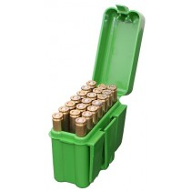 MTM Ammo Box 20 Round Belt Style 300 Win Mag 45-70 7mm Rem Mag Green