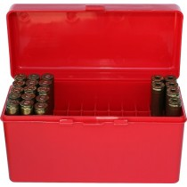 MTM Ammo Box 60 Round Flip-Top 270 Win 30-06 25-06 Red