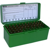 MTM Ammo Box 60 Round Flip-Top 243 308 Win 220 Swift Green