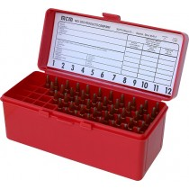 MTM Ammo Box 60 Round Flip-Top 243 308 Win 220 Swift Red