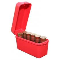 "MTM Shotshell Box 10 Round Flip-Top 12 Gauge Up To 3"" Red"