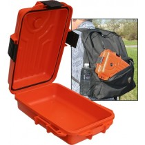 "MTM Survivor Dry Box Small 10X7X3"" Orange"