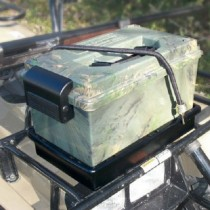 MTM Atv Sportsmen's Dry Box With Mounting Rack Wild Camo
