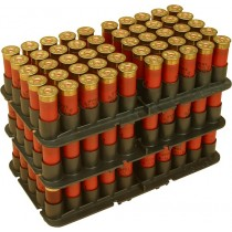 MTM Shotshell Trays 50 Round 16 Gauge Fits Sf & Sd & S-100 Black